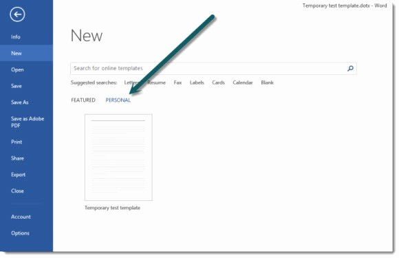 Newspaper Template for Word 2013 Best Of where are Custom Templates Stored for Microsoft Fice