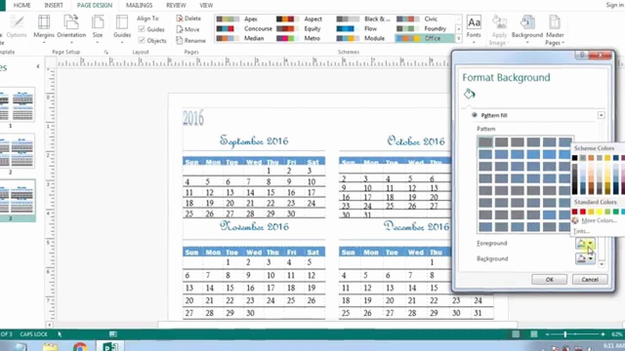 how to create calendars in microsoft publisher 2013 2