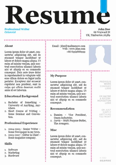 Newspaper Template for Word 2013 Fresh 20 Awesome Designer Resume Templates for Free Download