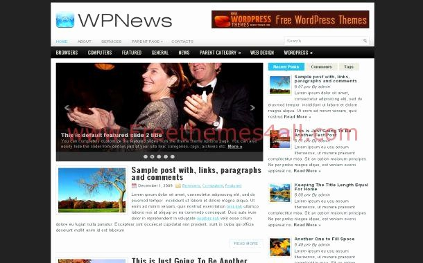 Newspaper Template for Word 2013 Lovely Jquery Daily News Free Wordpress theme Template