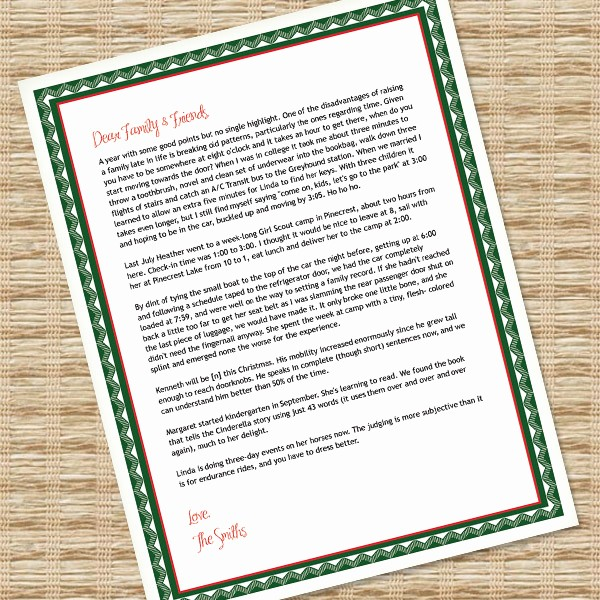Newspaper Template for Word 2013 Luxury Printable Christmas Letter Paper – Microsoft Word Template