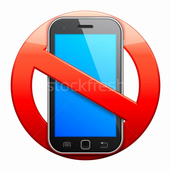 No Cell Phone Use Sign Best Of No Cell Phone Sign Vector Illustration © Timur Syrtsov