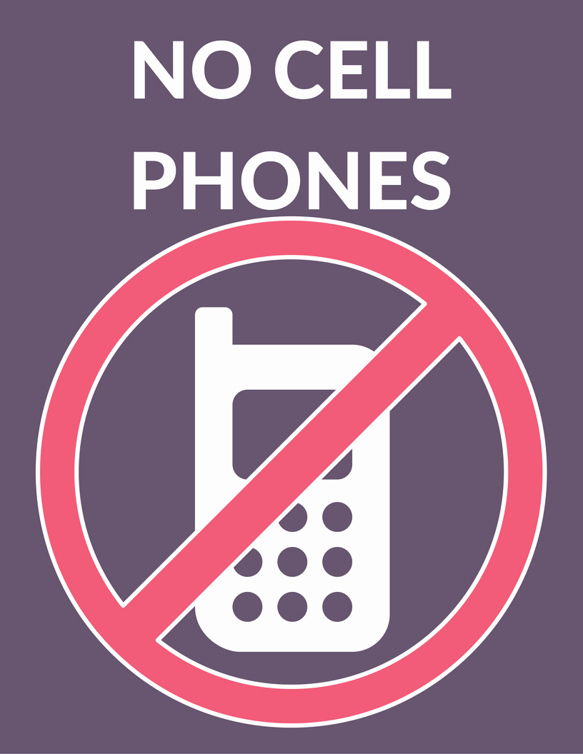 No Cell Phone Use Sign Elegant the Ultimate Gilmore Girls Revival Viewing Party