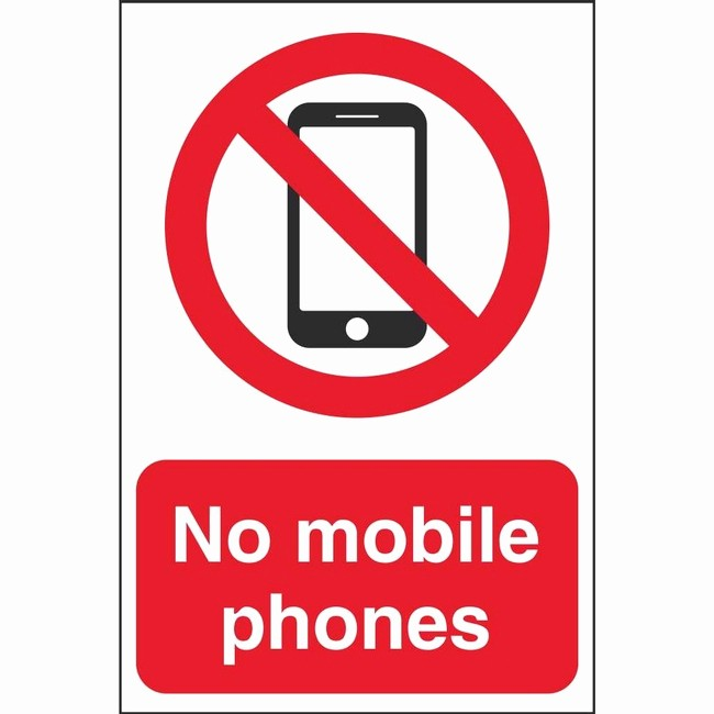 No Cell Phone Use Sign Lovely No Mobile Phones Prohibition Signs