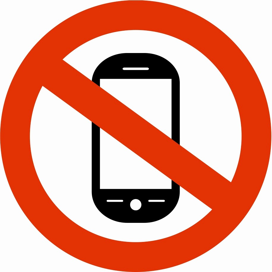 No Cell Phone Use Sign Unique Cell Phone F Clipart Clipart Suggest