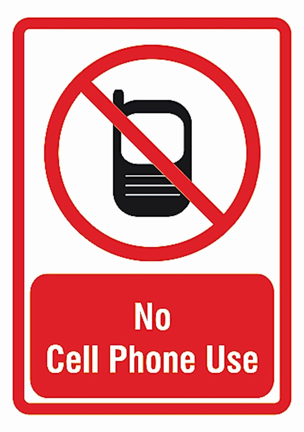 No Cell Phones Sign Printable Elegant No Cell Phone Use Private area Privacy Quality Decor Sign