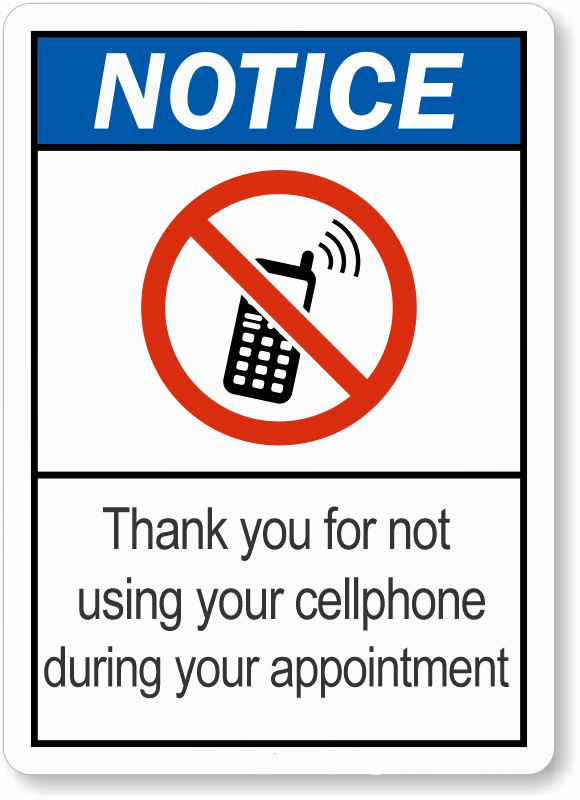 No Cell Phones Sign Printable Elegant No Wireless Signs No Cellphones No Wifi No Smart Meters