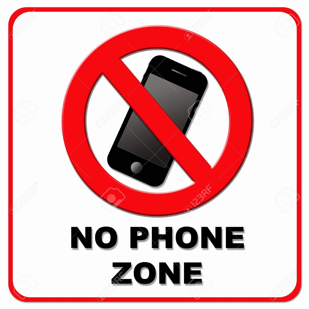 No Cell Phones Sign Printable Elegant Notice Clipart Cell Phone Pencil and In Color Notice