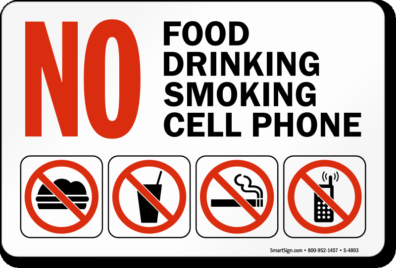 No Cell Phones Sign Printable Fresh No Food Drink Signs Custom No Food Drink Signs