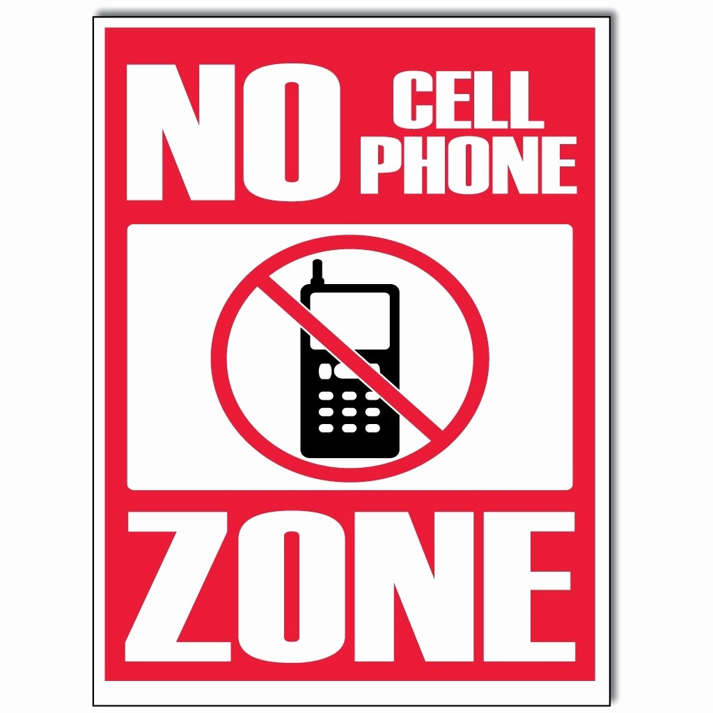 No Cell Phones Sign Printable Lovely Free Printable No Cell Phone Sign Download Free Clip Art