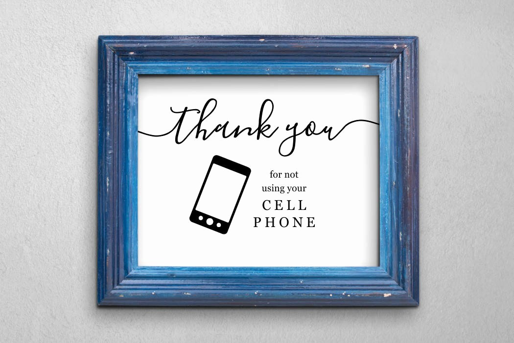 No Cell Phones Sign Printable Lovely No Cell Phone Sign Printable No Cellphone Use Sign Mobile