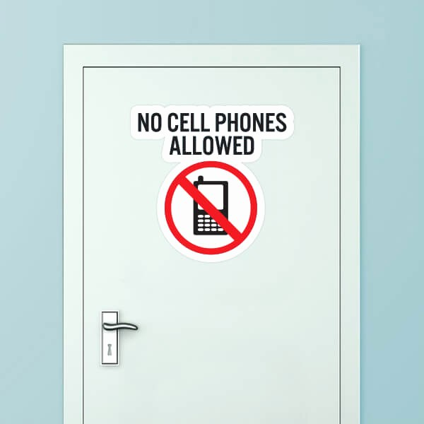 No Cell Phones Sign Printable Luxury No Cell Phones