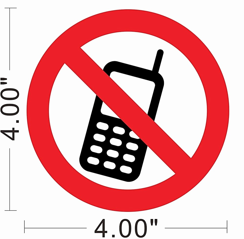 No Cell Phones Sign Printable New Free Printable No Cell Phone Sign Download Free Clip Art