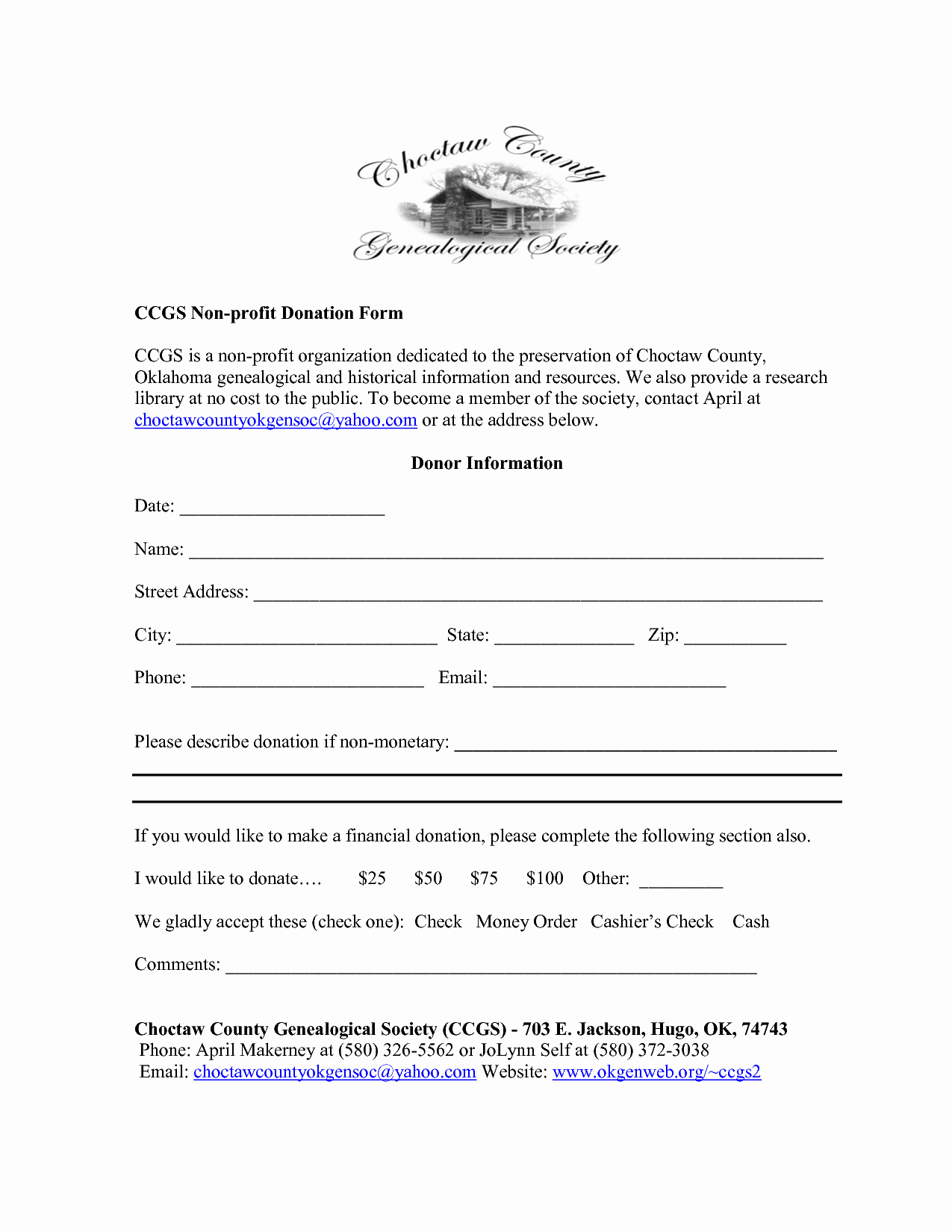 Non Profit Donation form Template Elegant Best S Of Receipt bylaws Template 501c3 Donation