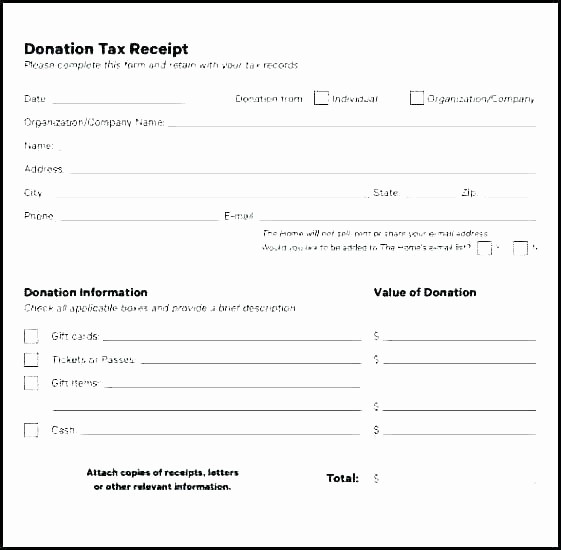 Non Profit Donation Receipt form Awesome Donation Receipt Templates Letters Goodwill Non Profit
