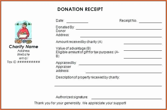 Non Profit Donation Receipt form Elegant Church Donation Template City Harvest Sample Campaign