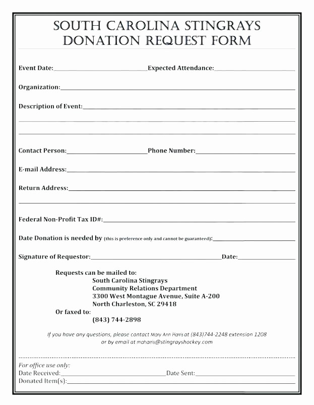 Non Profit Donation Receipt form Fresh Donation Receipt form Charitable Donation Receipt form