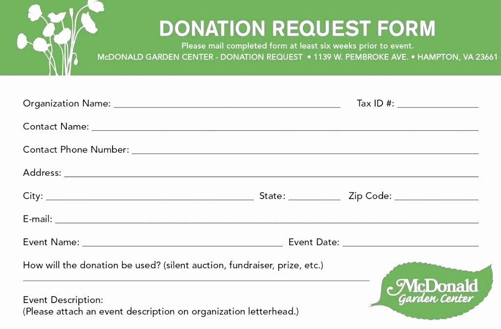 Non Profit Donation Receipt form Inspirational Template for Silent Auction Donation form – Bleachbathfo