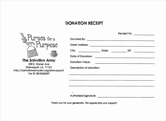 Non Profit Donation Receipt form Lovely 23 Donation Receipt Templates – Pdf Word Excel Pages