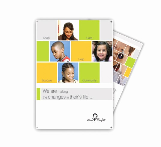 Non Profit organization Brochure Sample Beautiful Non Profit Changes In Life Brochures