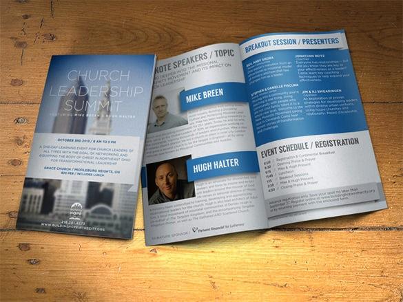 Non Profit organization Brochure Sample Best Of 23 event Brochure Templates & Psd Designs