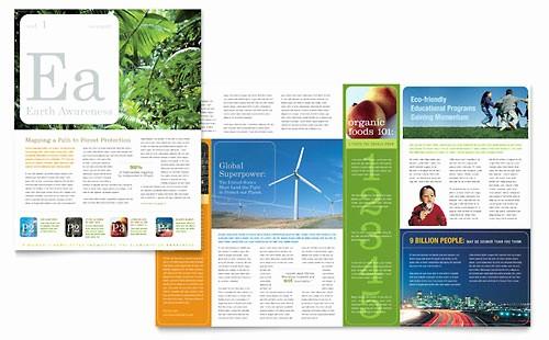 Non Profit organization Brochure Sample Best Of Environmental & Agricultural Non Profit Brochure Template