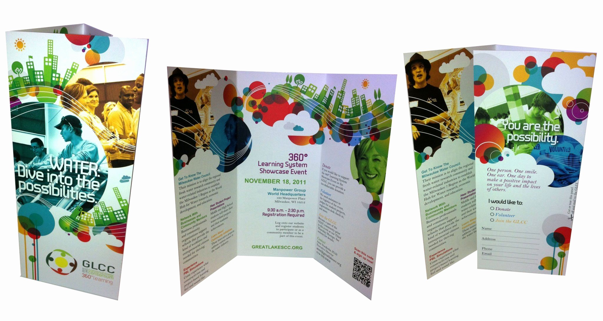 Non Profit organization Brochure Sample Elegant A Non Profit Brochure Created From A Youth Program Graphic