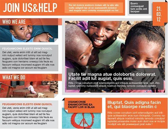 Non Profit organization Brochure Sample Elegant Indesigntemplate – Brochure Templates for Non Profit