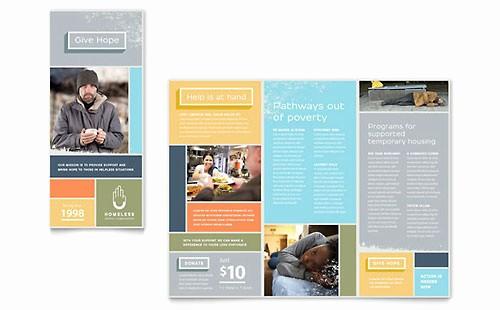 Non Profit organization Brochure Sample Elegant Non Profit