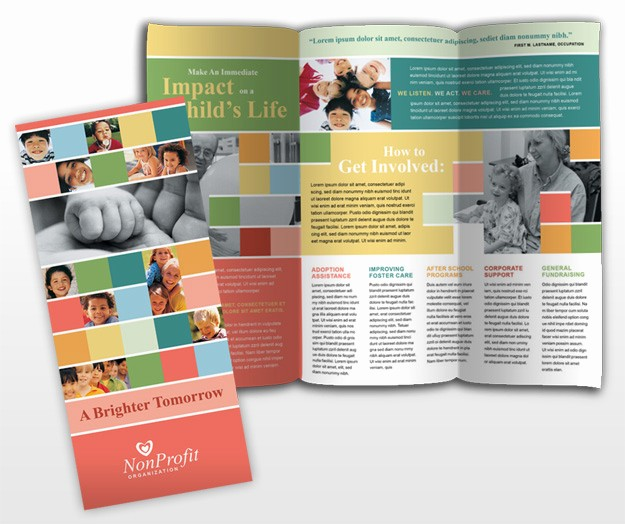 Non Profit organization Brochure Sample Fresh 7 Best Of Tri Fold Brochure Size Tri Fold