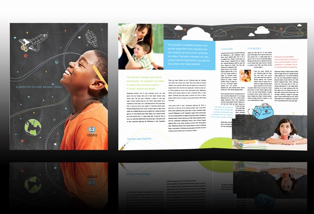 Non Profit organization Brochure Sample Fresh Guaranteed Brochure Design Nonprofit forward Tutoring