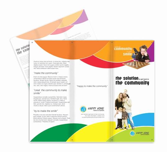 Non Profit organization Brochure Sample Lovely Non Profit Munity Brochures