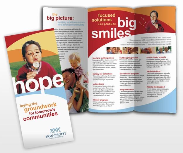 Non Profit organization Brochure Sample New Non Profit Groups & Munity organizations Brochure Templates