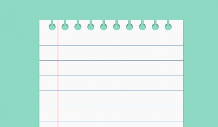 Notebook Paper Background for Powerpoint Awesome Notebook Paper Powerpoint Template