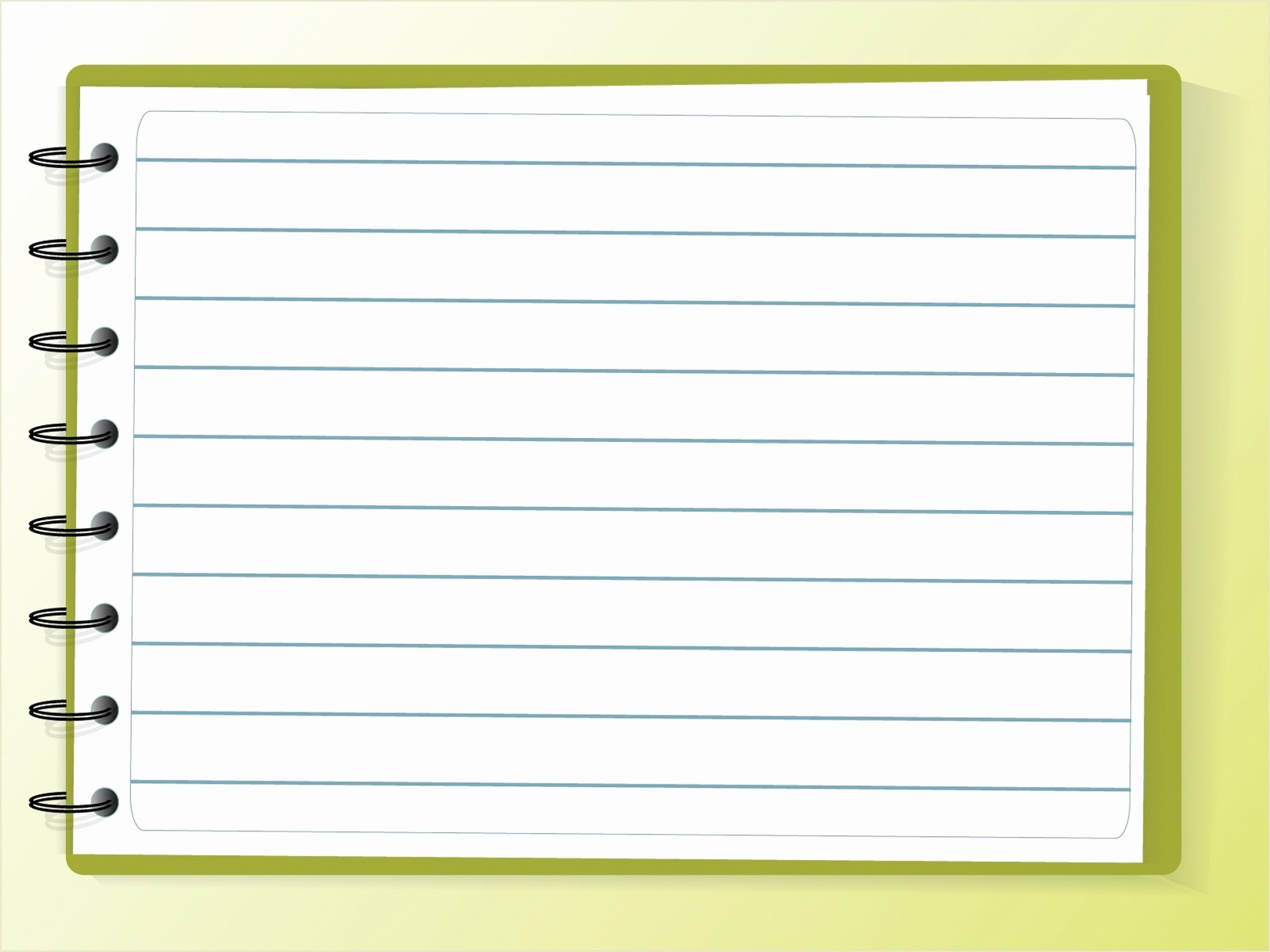 Notebook Paper Background for Powerpoint Beautiful Notebook Background Powerpoint