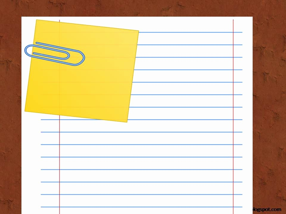 Notebook Paper Background for Powerpoint Beautiful Notebook Paper Powerpoint Template