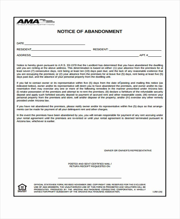 Notice Of Lease Violation Template Best Of Unauthorized Tenant Letter Wallpaperall