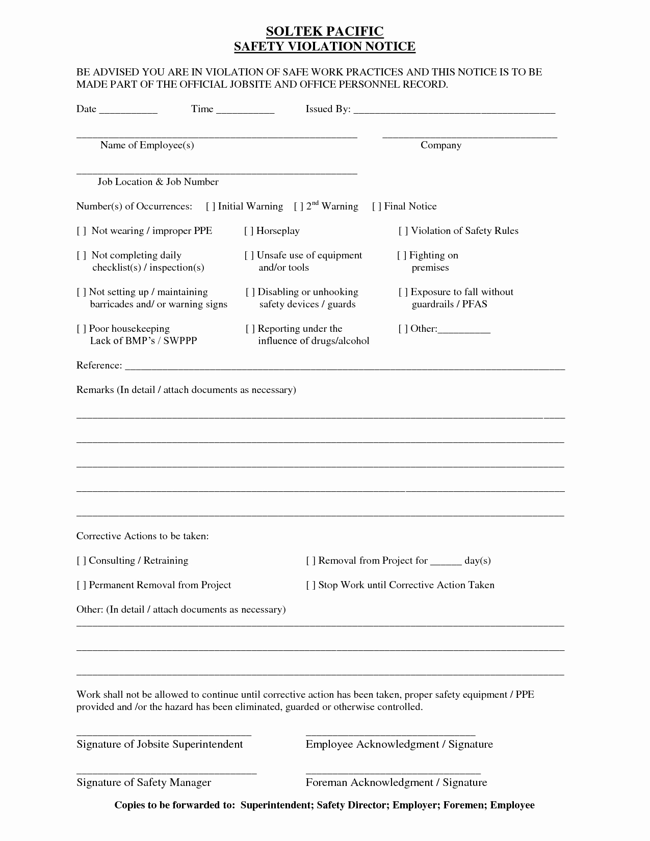 Notice Of Lease Violation Template New 7 Best Of Notice Violation form Lease