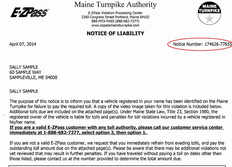 Notice Of Violation Letter Sample Elegant Violations