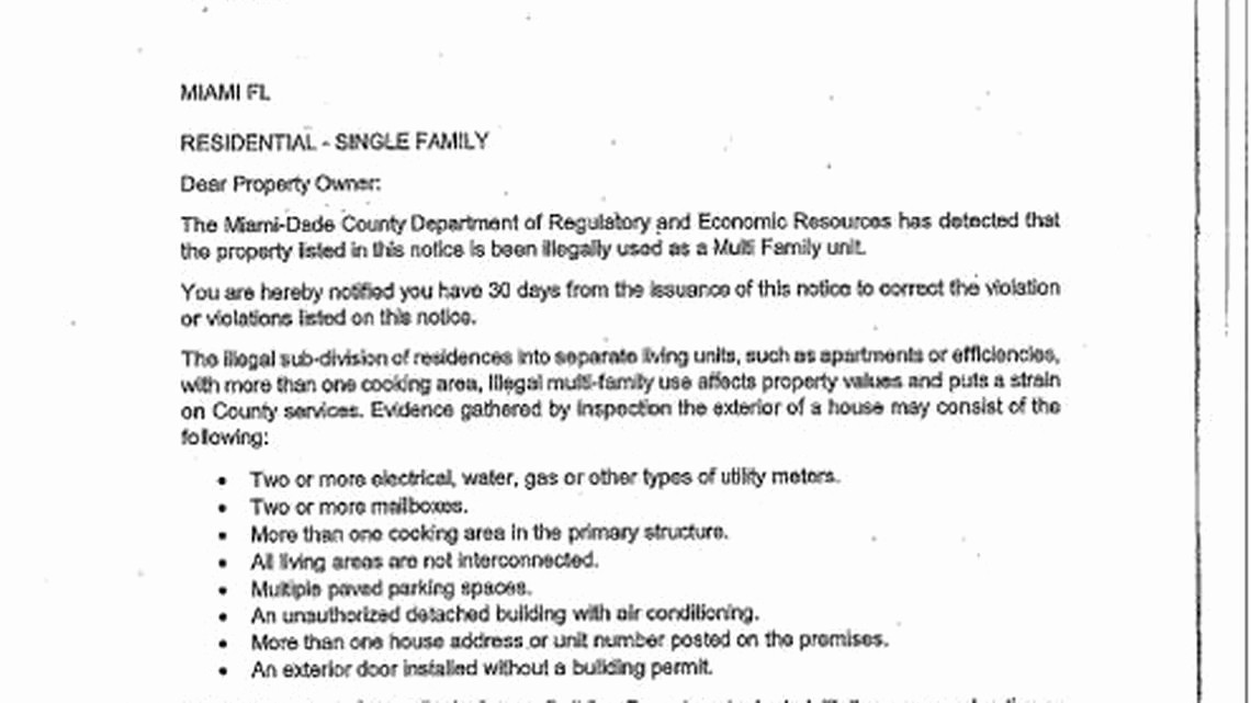 Notice Of Violation Letter Sample Fresh Miami Dade Police Warns Of Fake Letters About Zoning