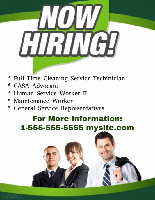 Now Hiring Flyer Template Free Fresh now Hiring Flyer Template