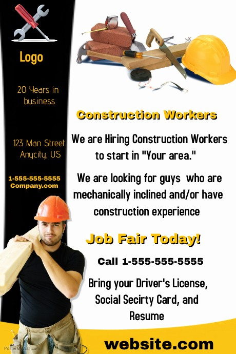 Now Hiring Flyer Template Free Inspirational Jnow Hiring Flyer Template