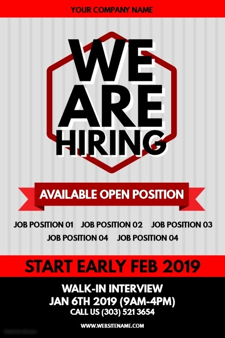 Now Hiring Sign Template Free Awesome Copy Of Hiring Poster