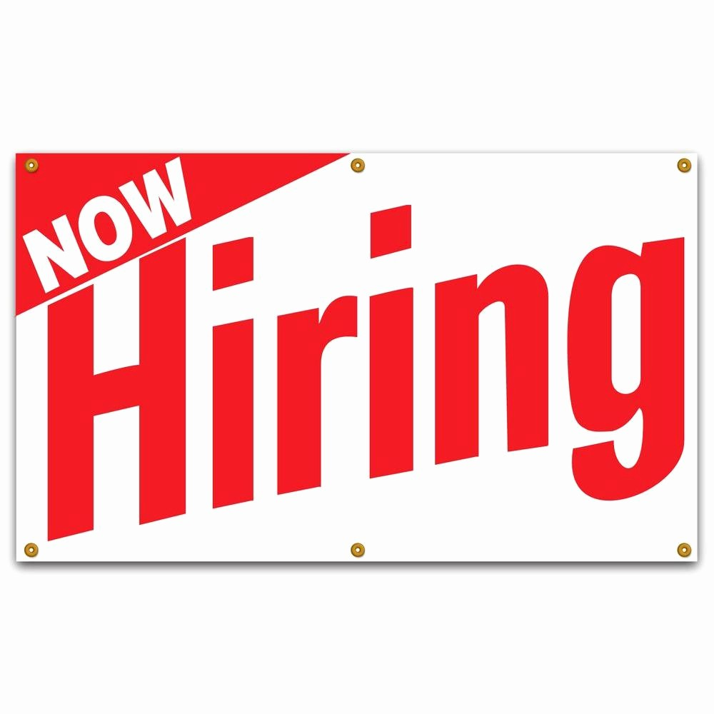 Now Hiring Sign Template Free Elegant Lynch Sign 5 Ft X 3 Ft Red On White Vinyl now Hiring