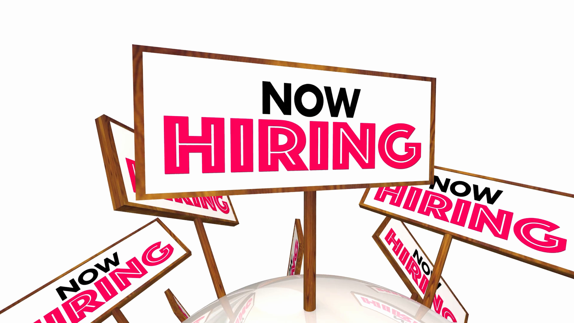 Now Hiring Sign Template Free Fresh now Hiring Help Wanted Open Jobs Positions Signs 3 D