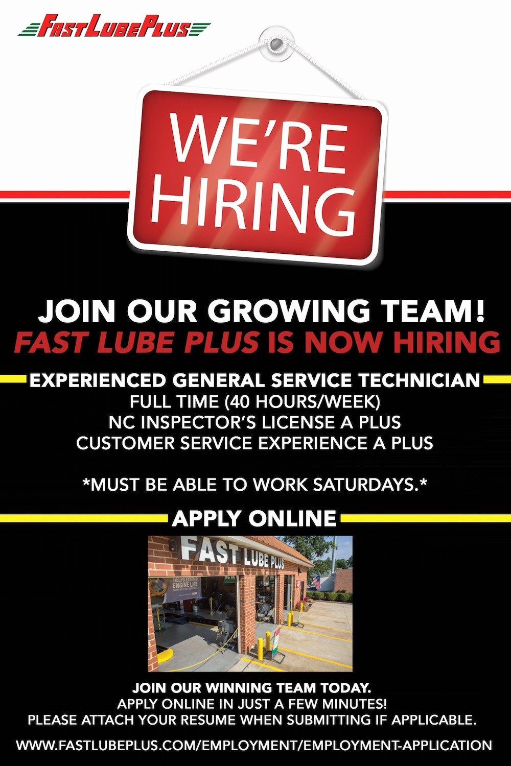 Now Hiring Sign Template Free Fresh We Re Hiring Mechanic Jobs