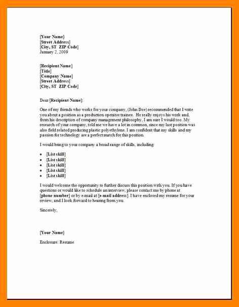 Nursing Cover Letter Template Word Lovely 12 Free Cover Letter Samples