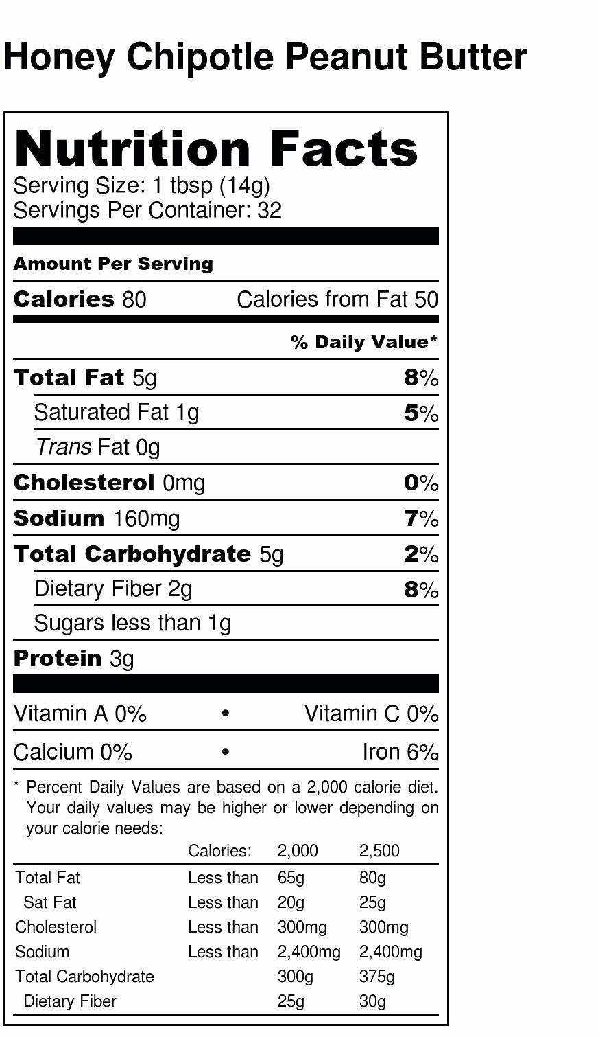 Nutrition Facts Label Template Excel Elegant Nutritional Label Template Excel Nutrition Ftempo