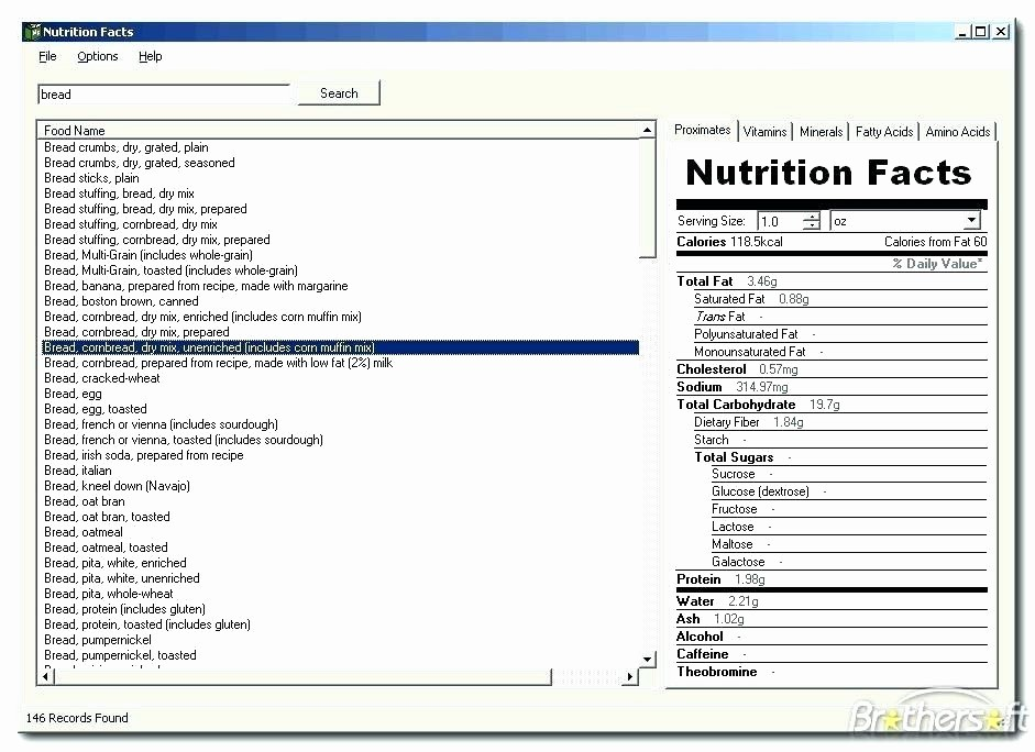 Nutrition Facts Label Template Excel Fresh Label Template Excel – Buildingcontractor