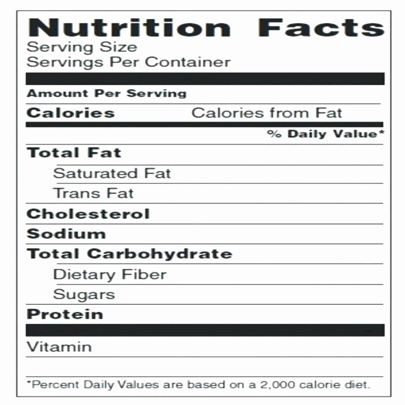 Nutrition Facts Label Template Excel Inspirational Label Template Excel – Buildingcontractor
